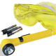 1687550014 - Powerful 1-Watt leak detection lamp with 3 integrated (AA) batteries.