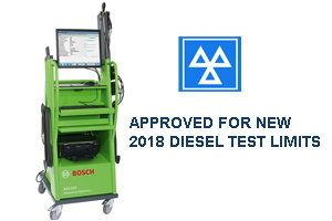 INCLUDES 1 YEAR CALIBRATIONS, 2 YEARS WARRANTY. MOT Approved Emissions Tester Petrol & Diesel. Wireless Diesel head. Full PC trolley