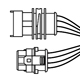 1684463448 - 4 way adapteer cable Vauxhall type