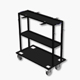 1690701041 - FWA 4630 Storage trolley for wheel brackets /boards
