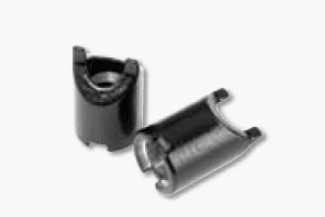 Plastic-coated aluminum sleeves for multi-quick clamps. Set of 12 units