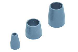 Set of 3 sleeves for assembling sealing rings on VW