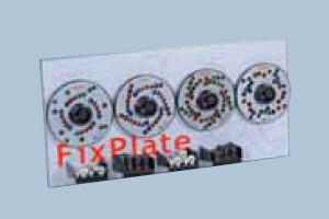 FixPlate world kit (4 FixPlates, 10 Studs/25 heads /1 Wall board)