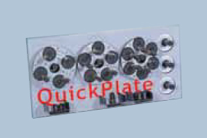 Set of QuickPlates (4-, 5- and 6-holes-plates)